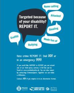 Disability Police Scotland
