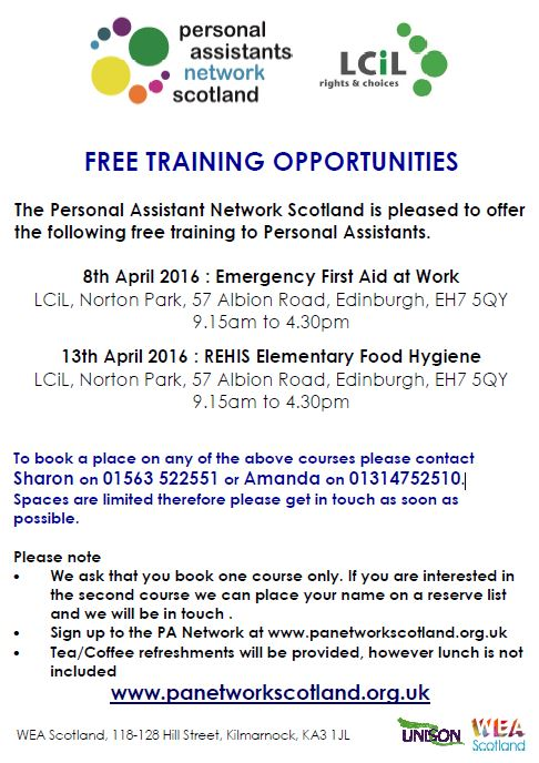 PANS Training Flyer