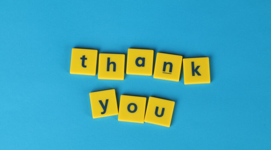 thank you scrabble pieces