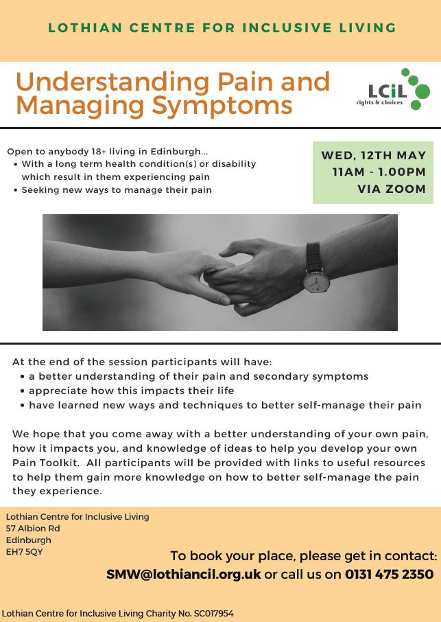 Self Management Workshop Poster